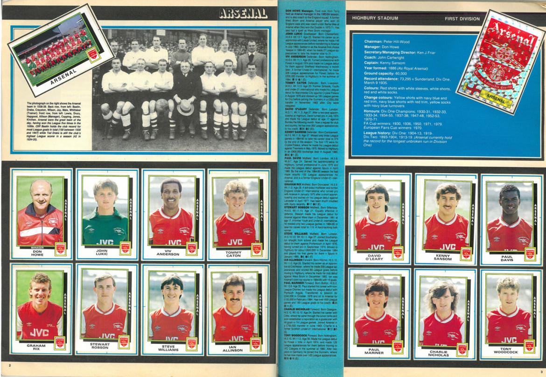 Arsenal 1986