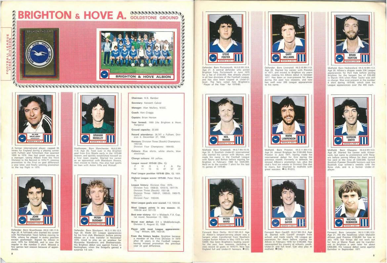 Brighton & Hove Albion 1981