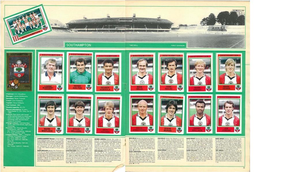 Southampton 1985