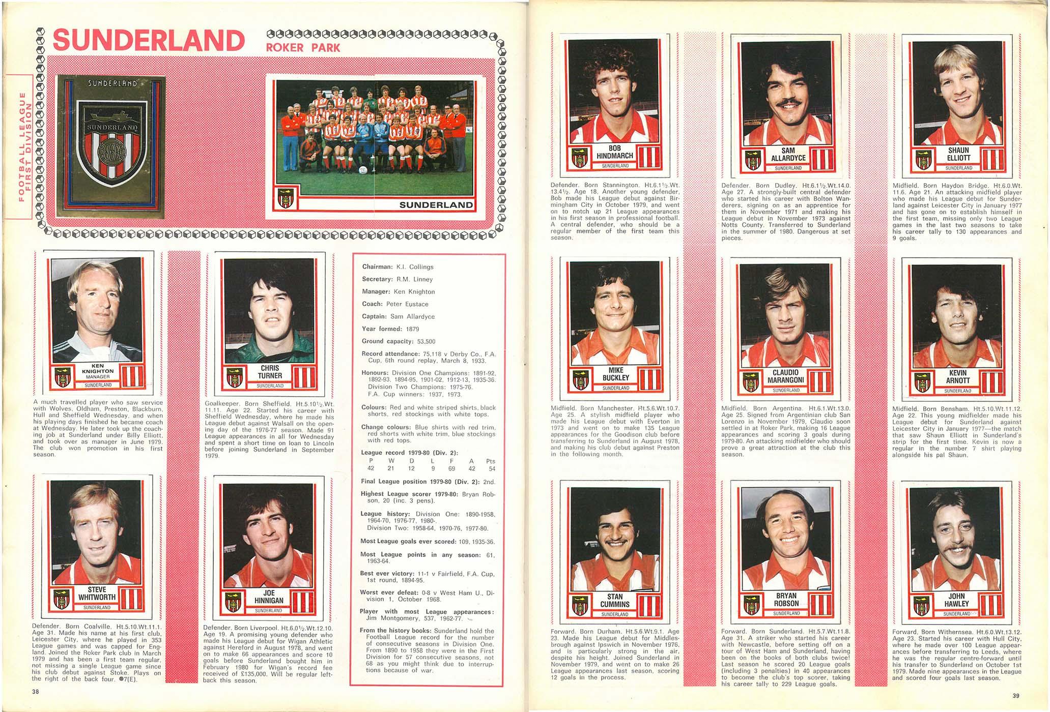 Sunderland 1981