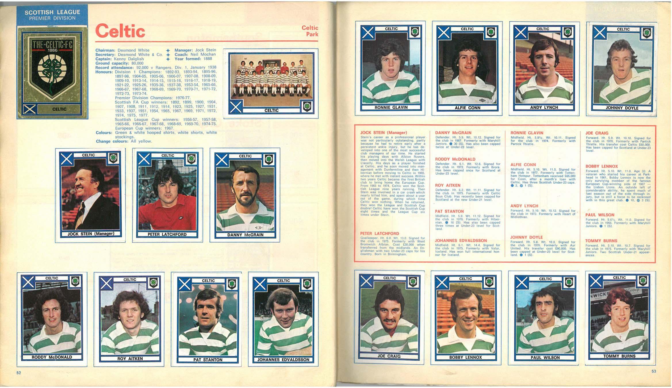 Celtic 1978