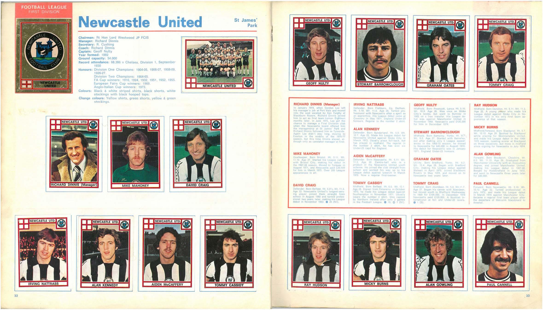 Newcastle United 1978