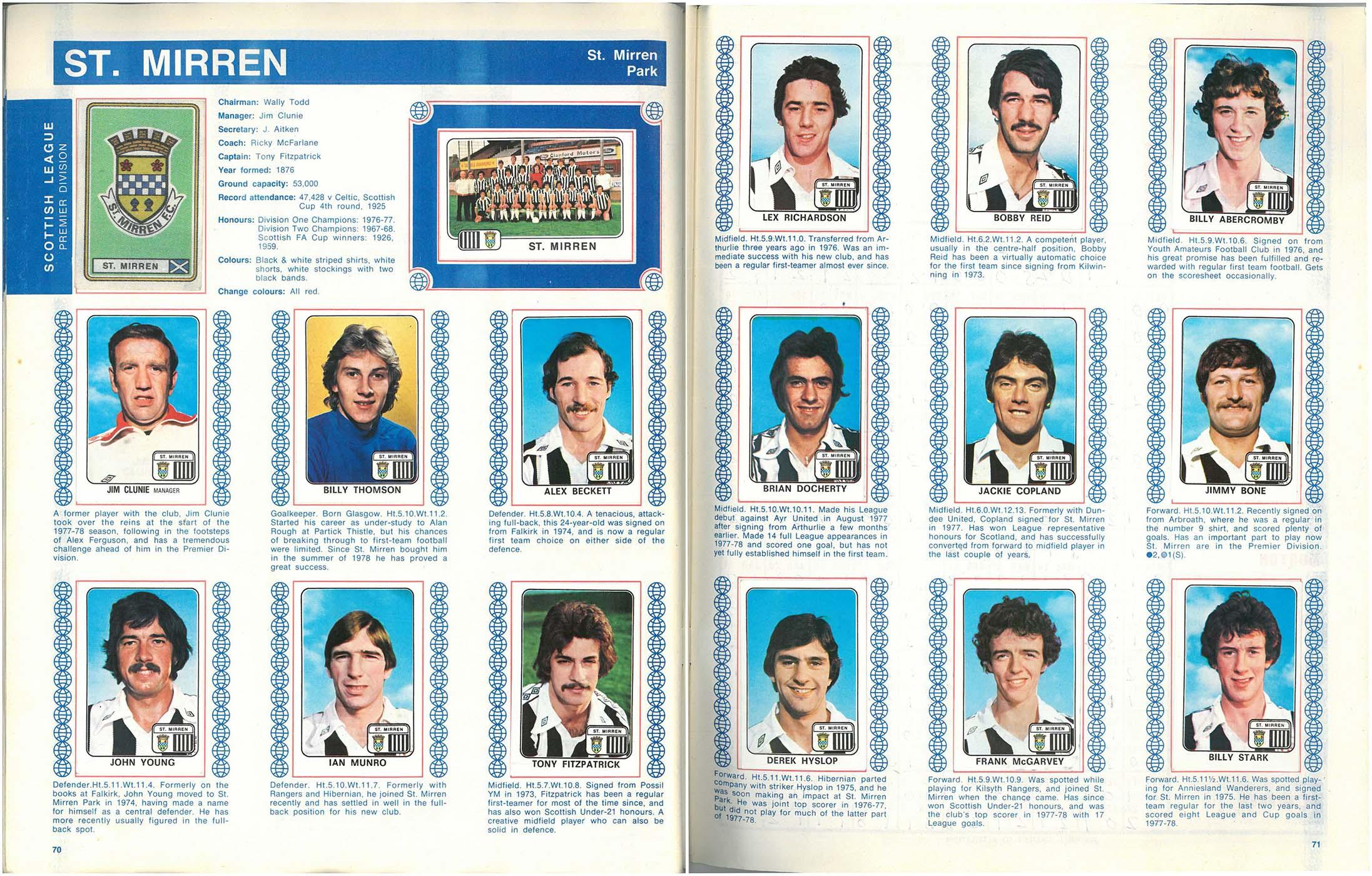 St Mirren 1979