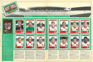 Stoke City 1985