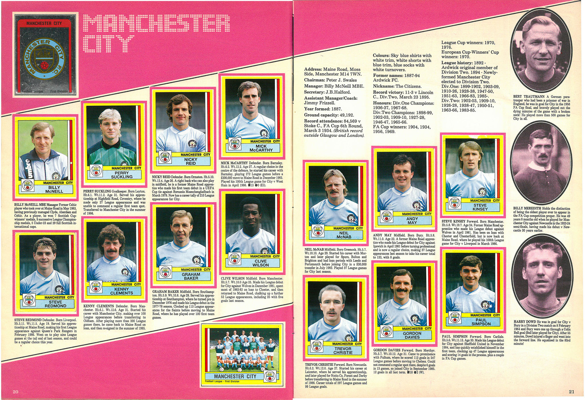 Manchester City 1987