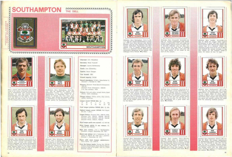 Southampton 1981