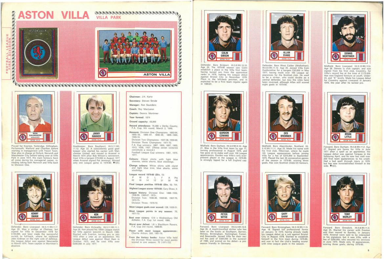 Aston Villa 1981