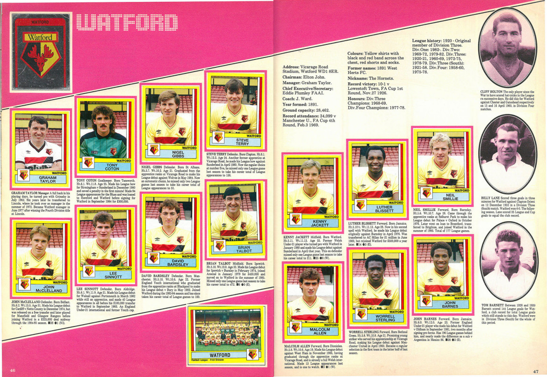 Watford 1987