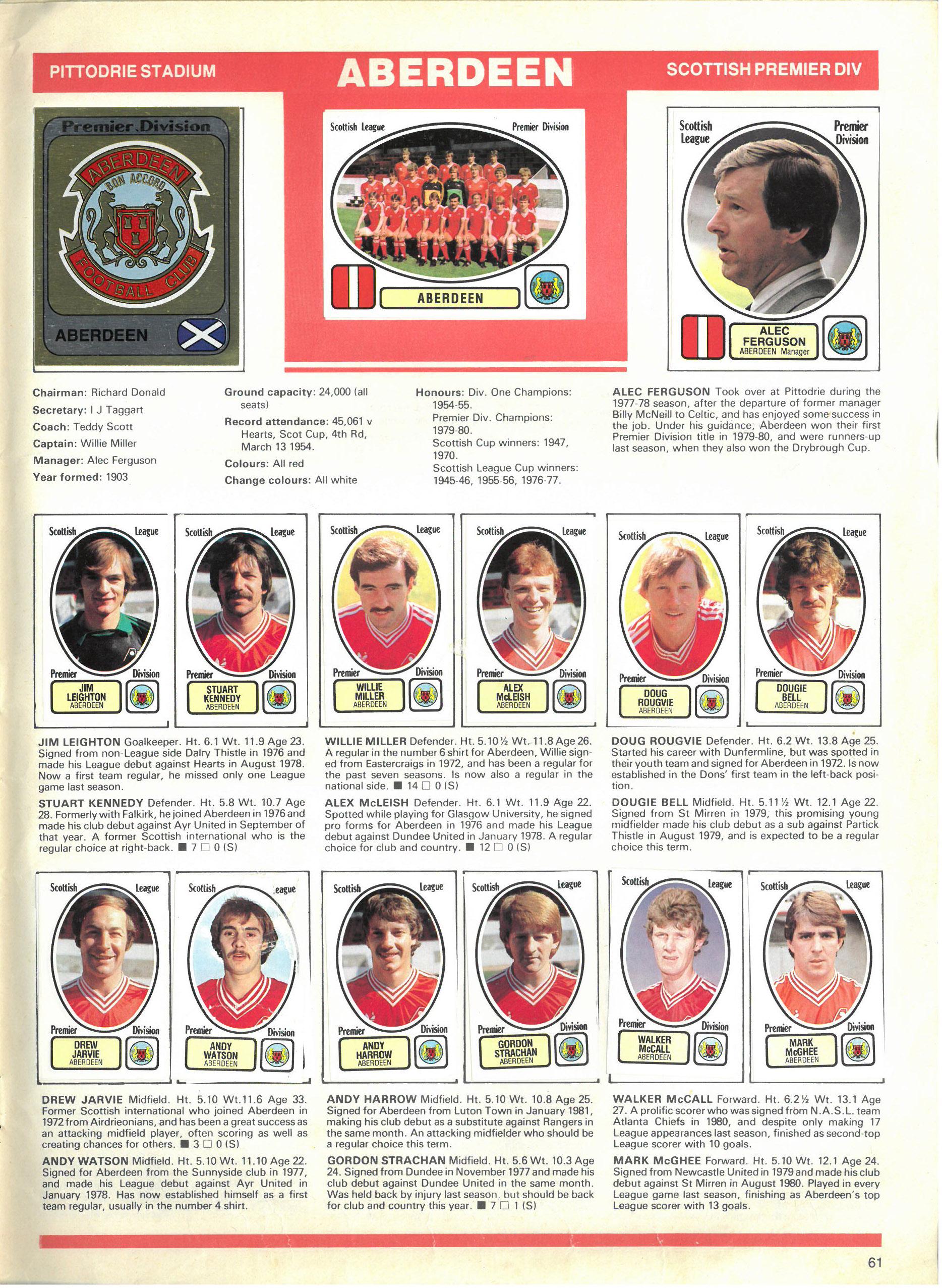 Aberdeen 1982
