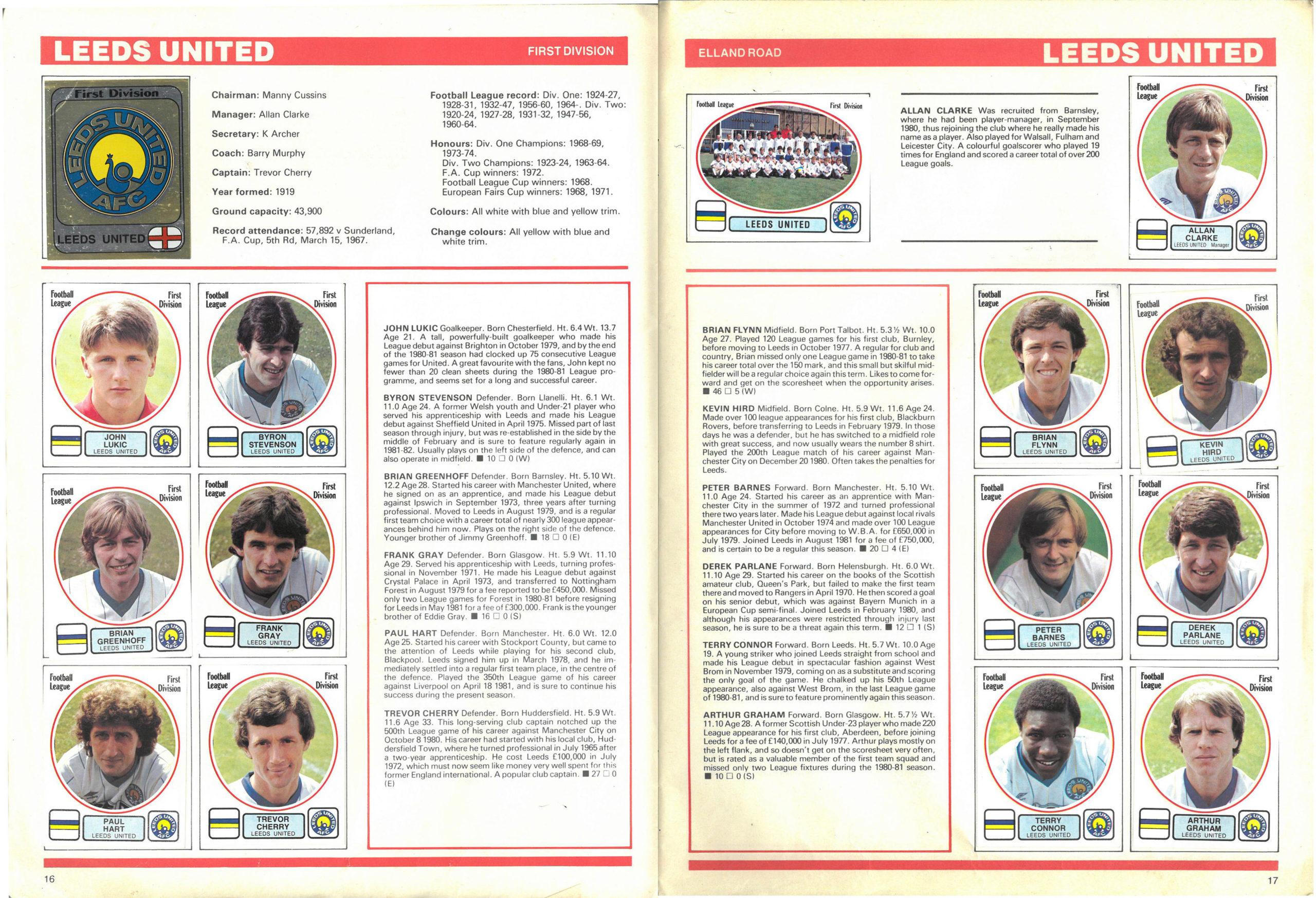 Leeds United 1982