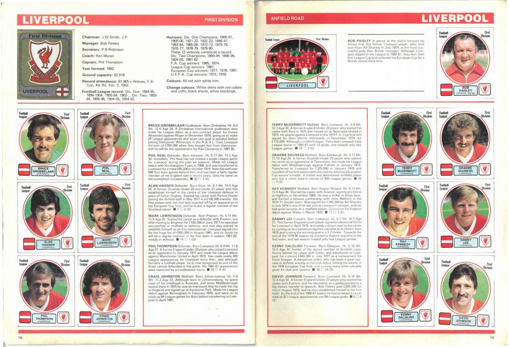 Liverpool 1982