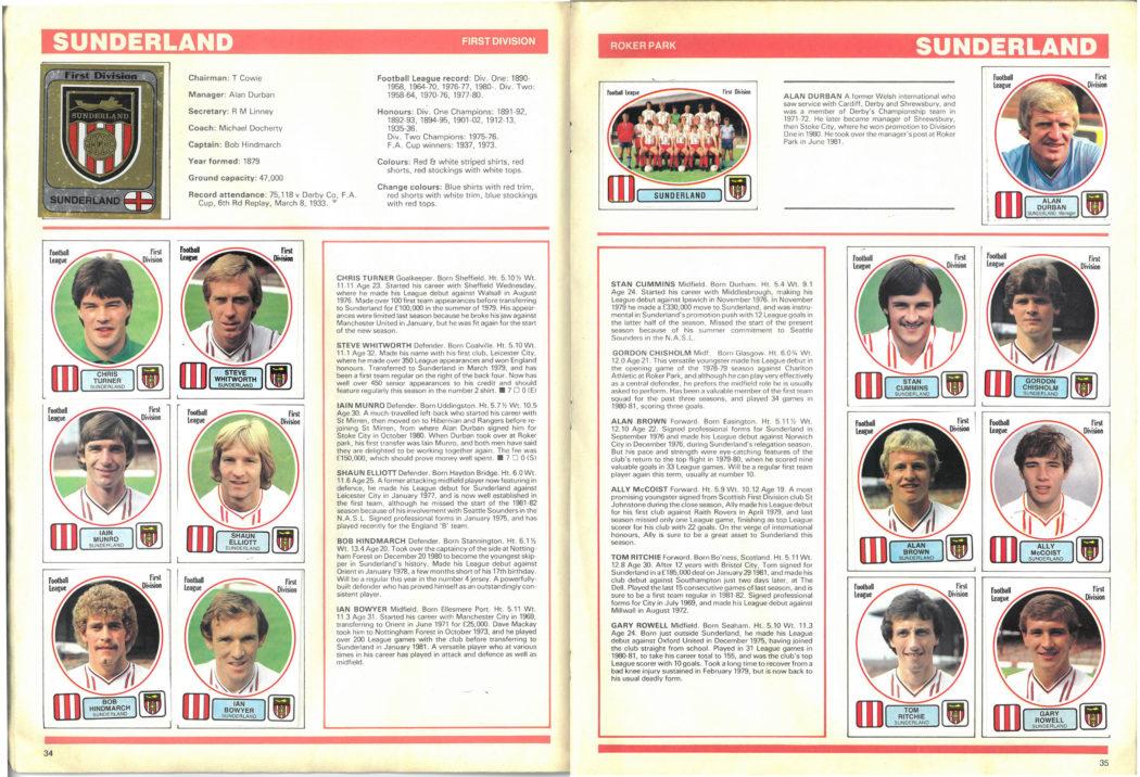 Sunderland 1982