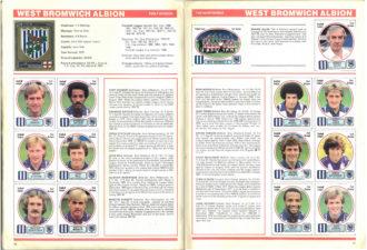 West Bromwich Albion 1982